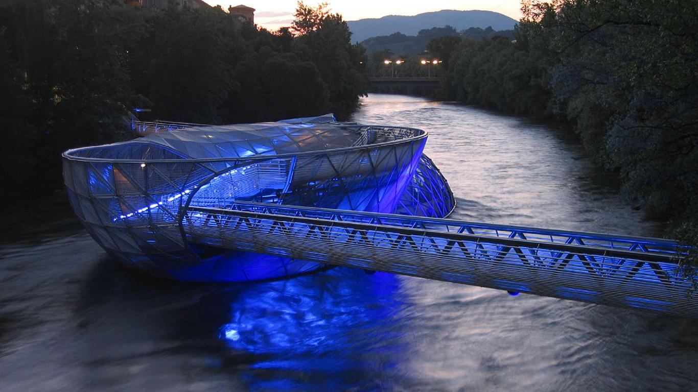 Мост-ресторан Айола