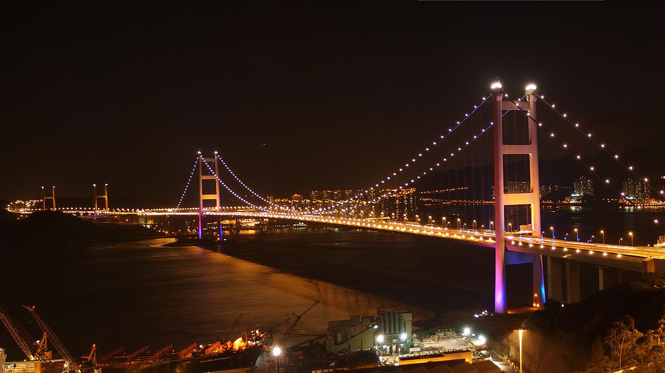 Вид на весь мост Цинма