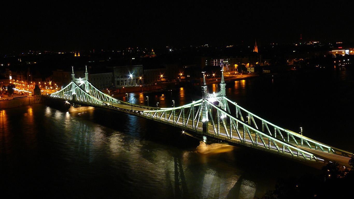Мост Свободы сверху