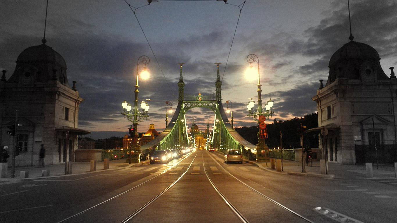 Въезд.Мост Свободы