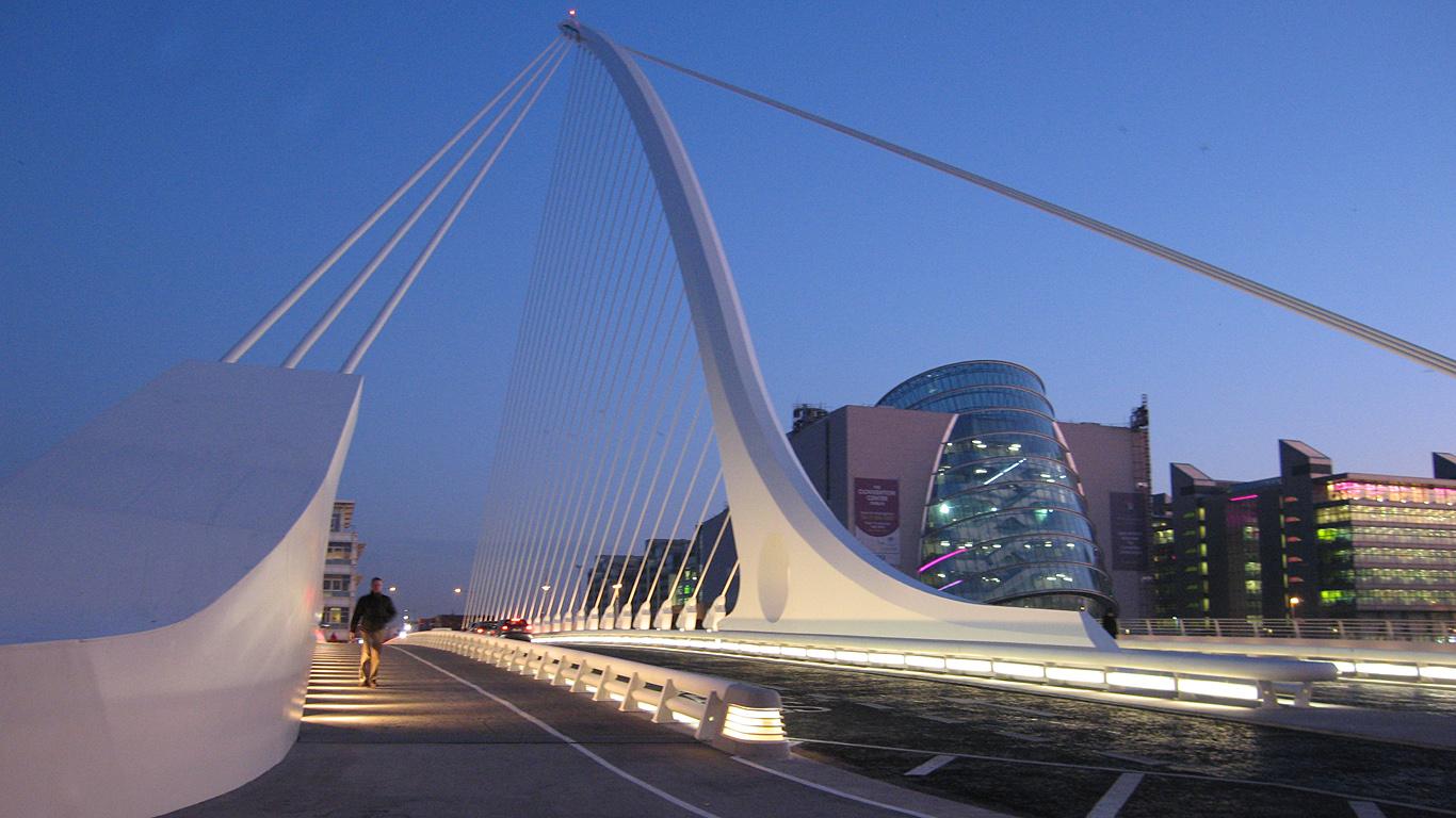 Вход на мост Сэмюэла Беккета