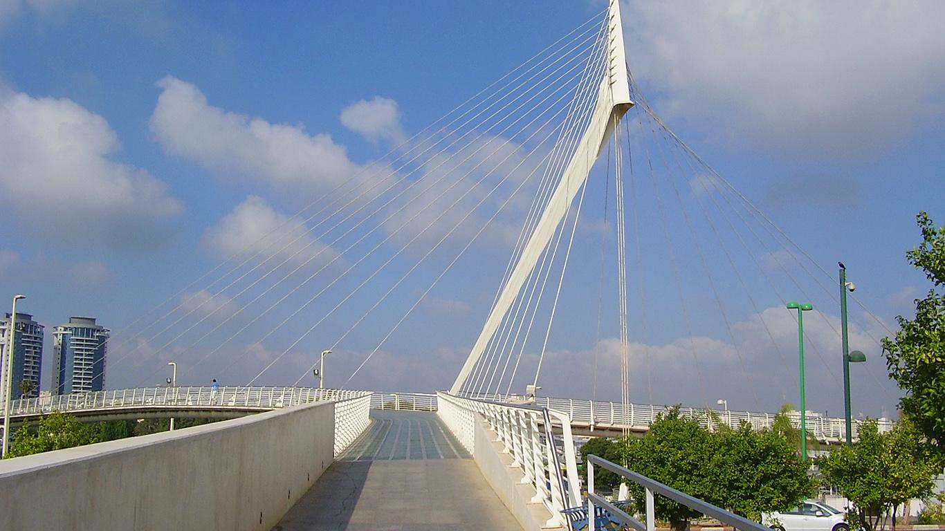 Мост Калатравы днем