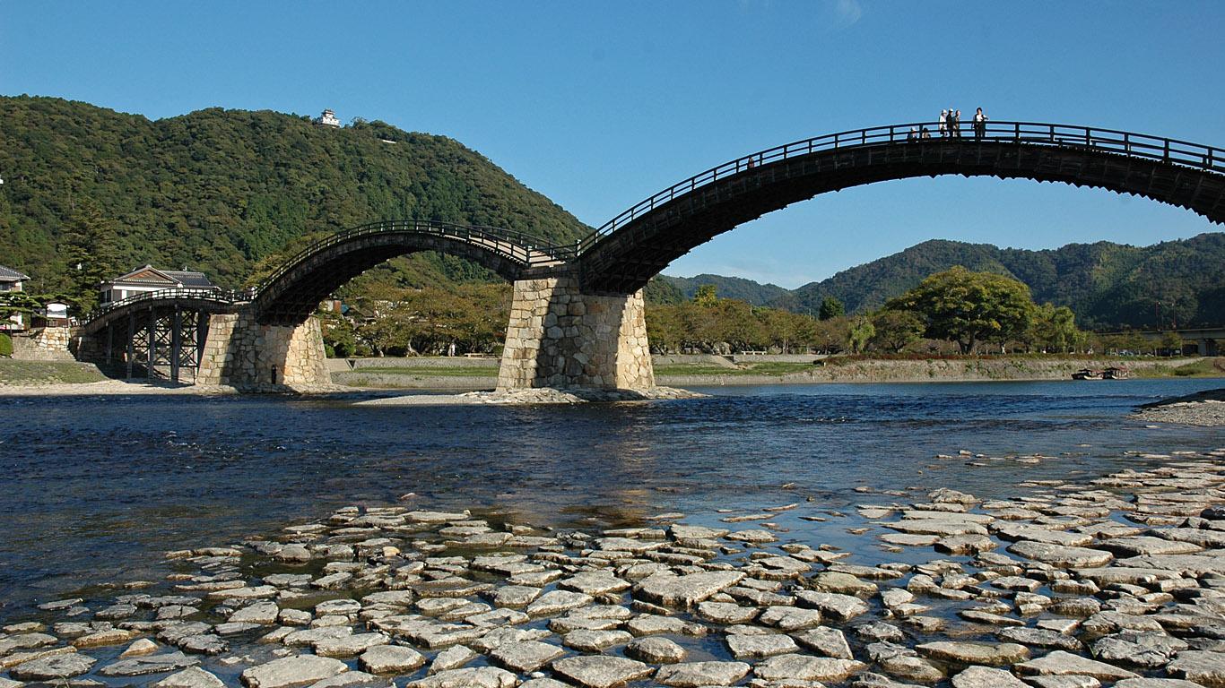 Берег у моста