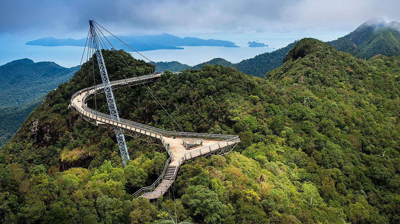 Небесный мост Лангкави