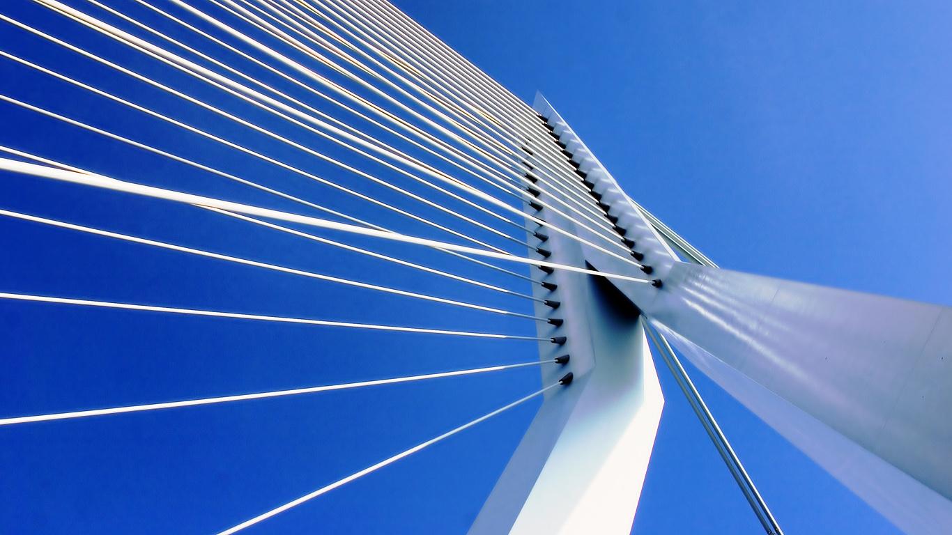 Канаты моста Эразма