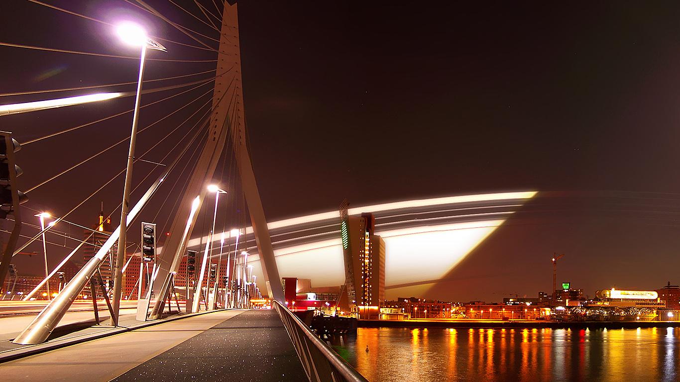 На мосту Эразма