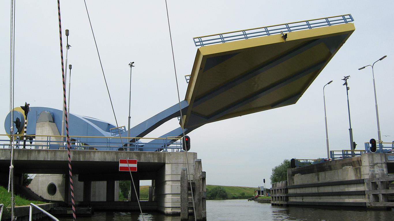 Подъем моста Слауерхоффа
