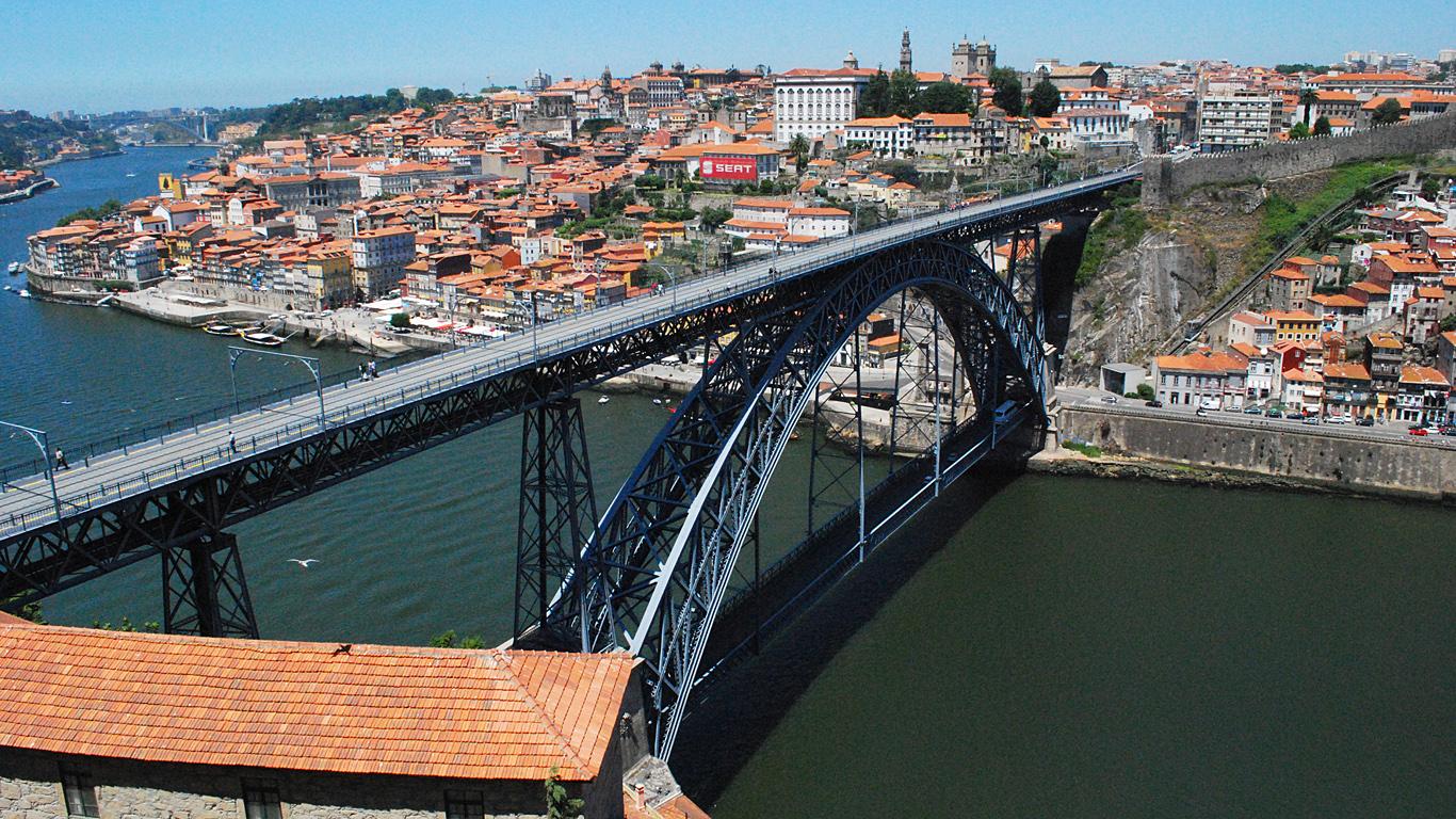 Мост Понте-де-Дон-Луиш