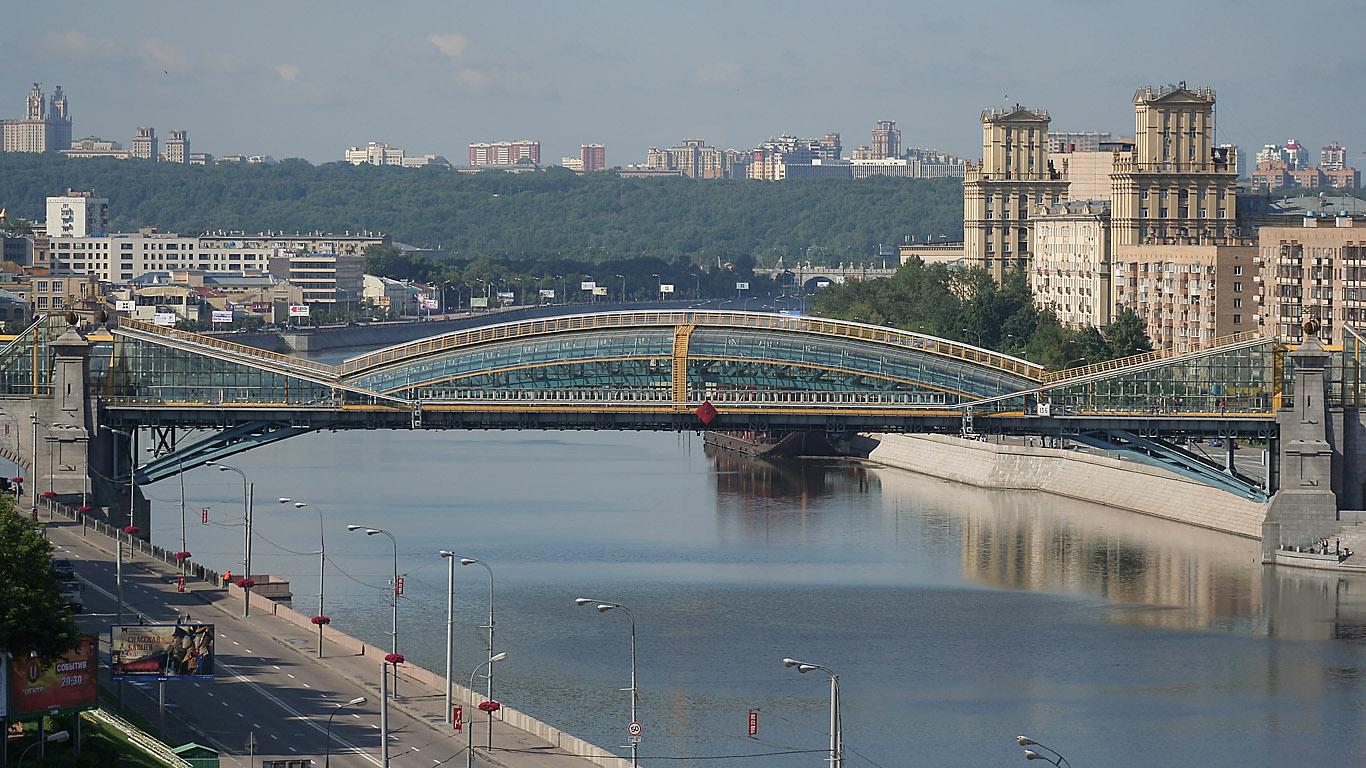 Мост с высоты