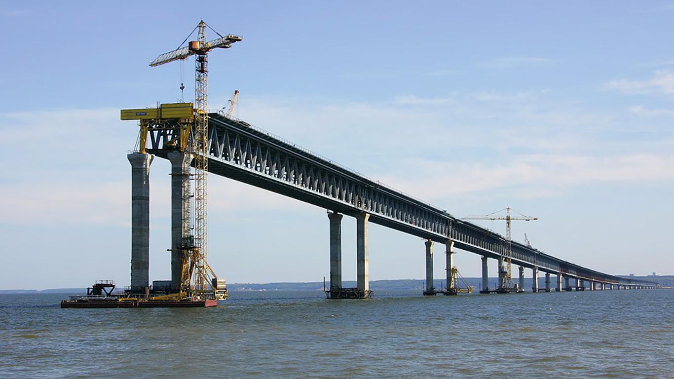 Стройка.Президентский мост