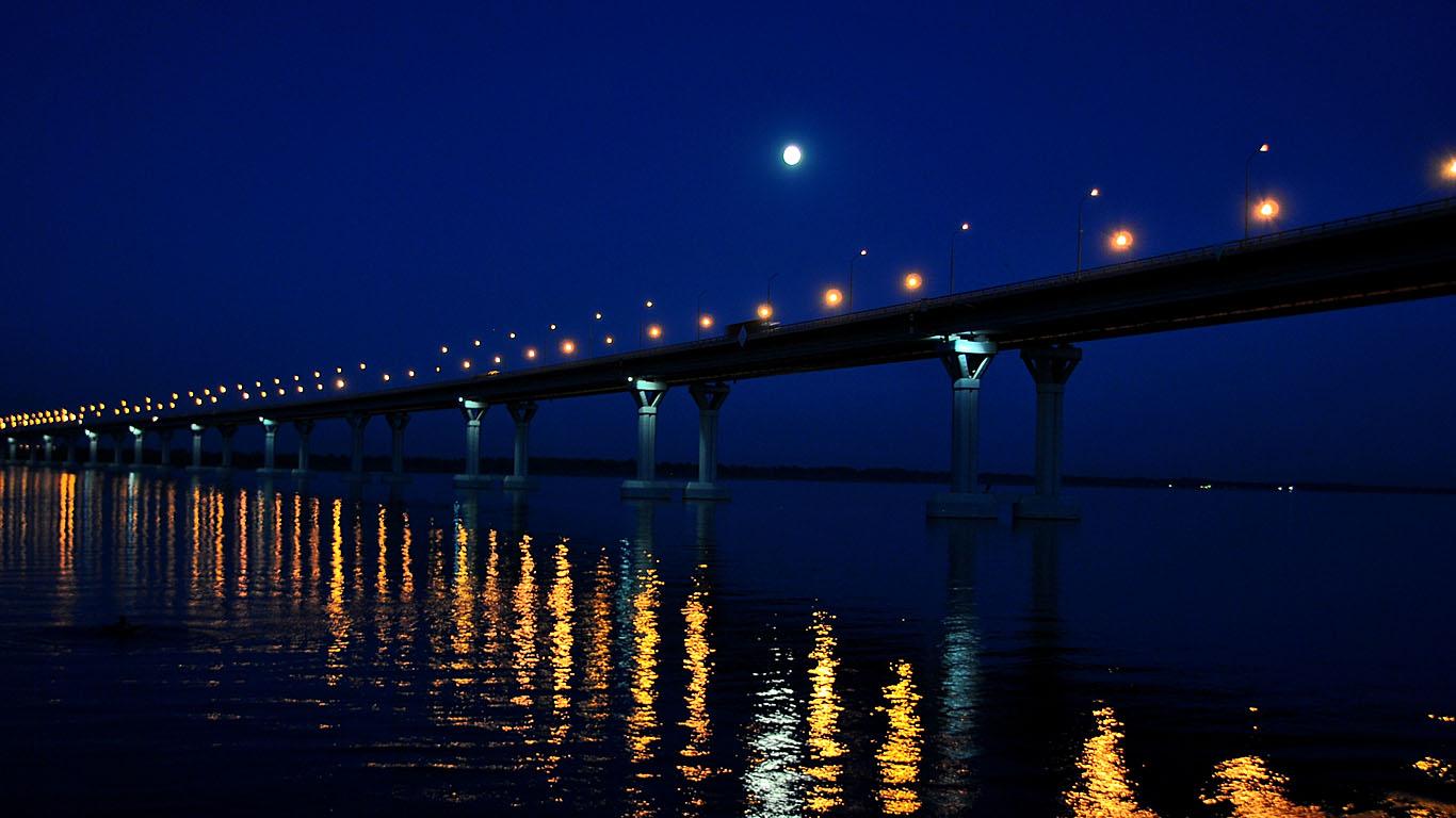 Новый Саратовский мост