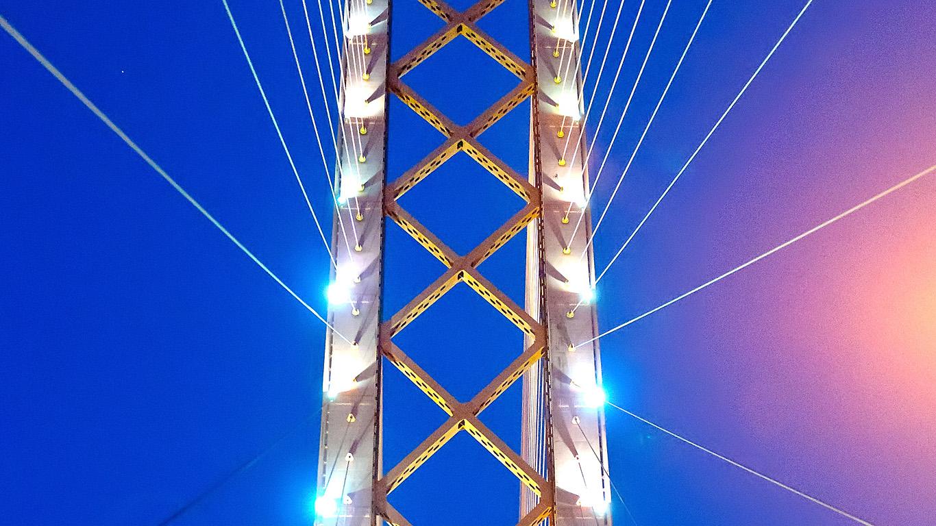 Опора Сургутского моста