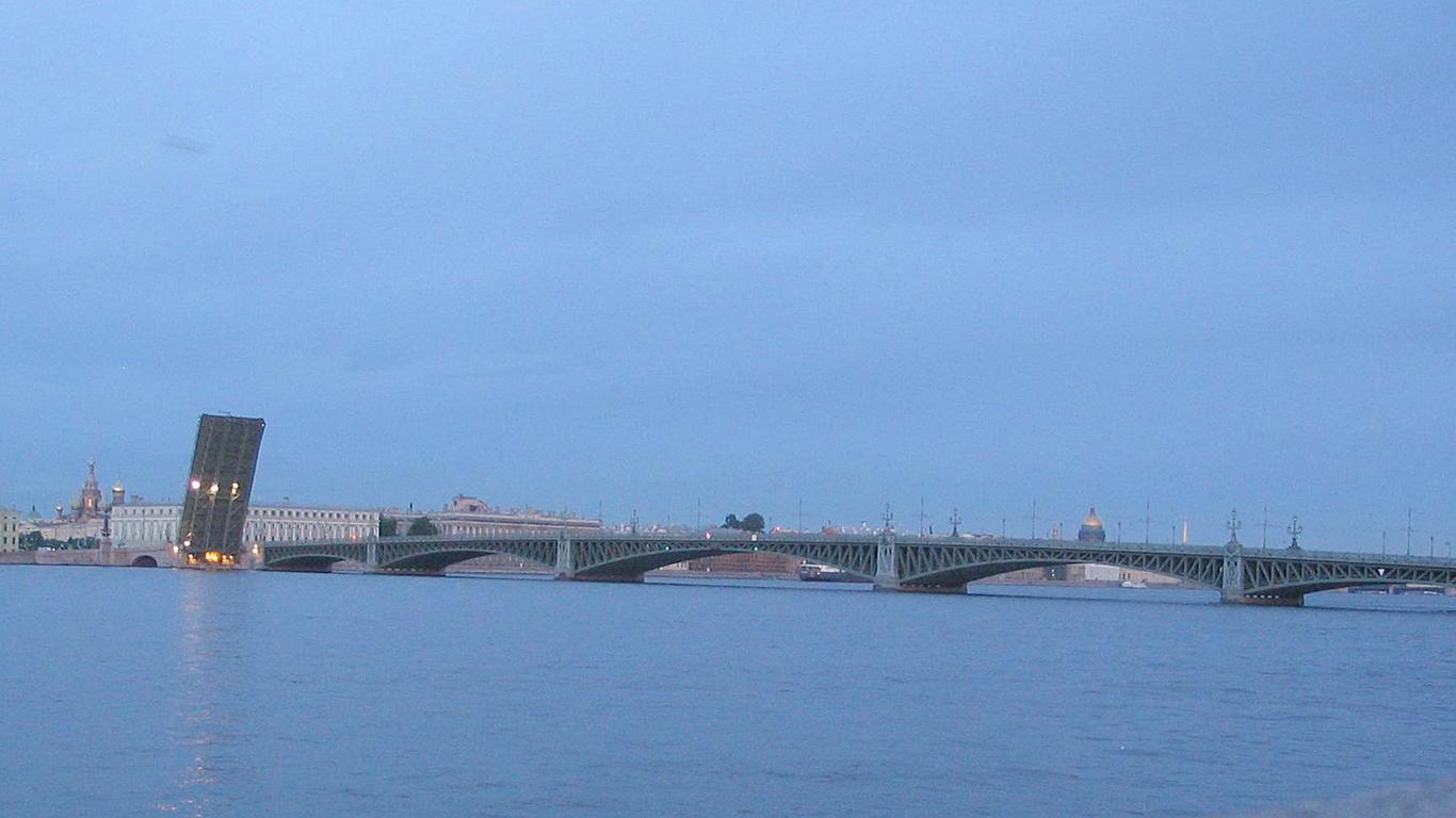 Белые ночи.Троицкий мост