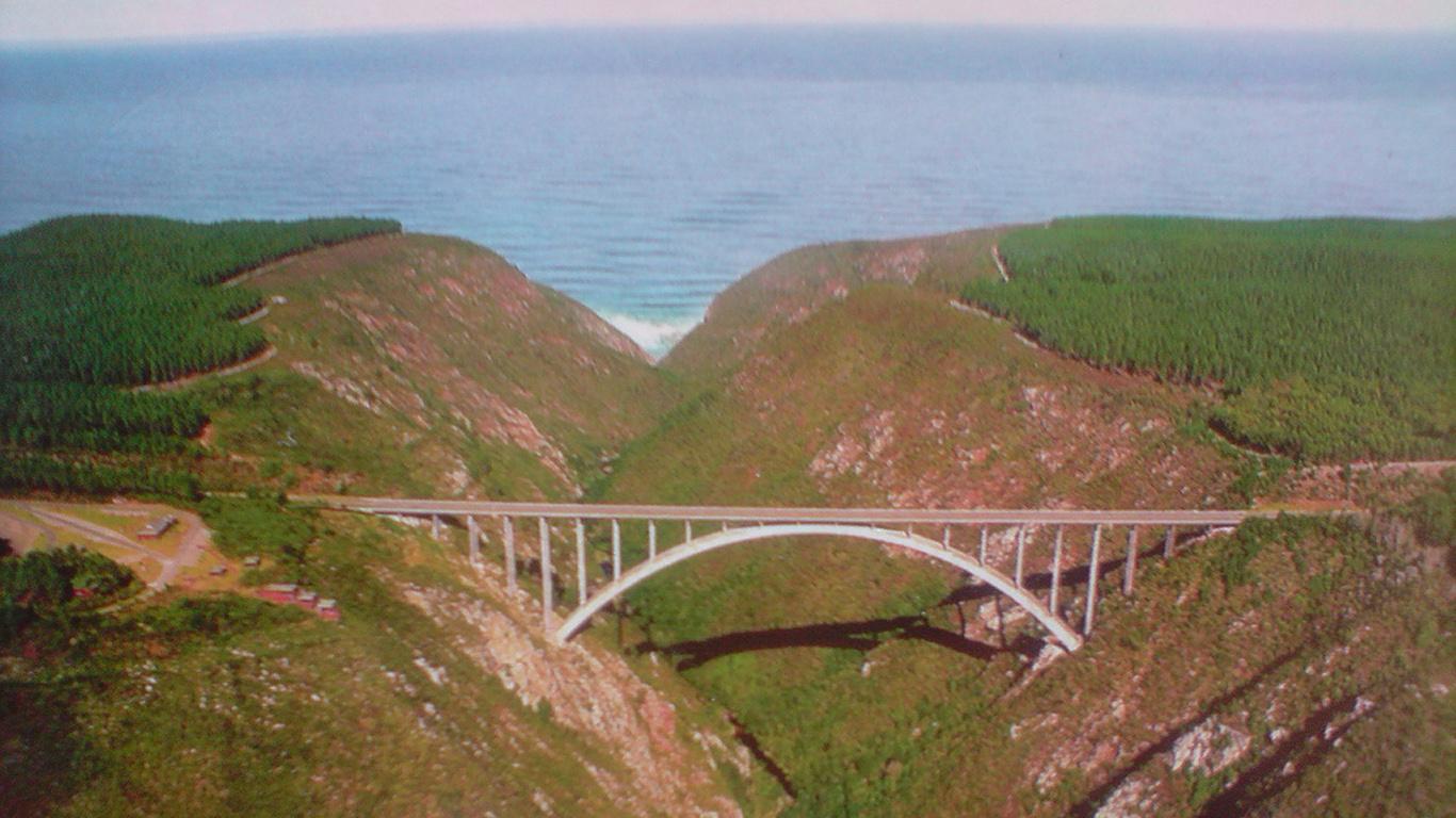 Мост Блоукранс сверху