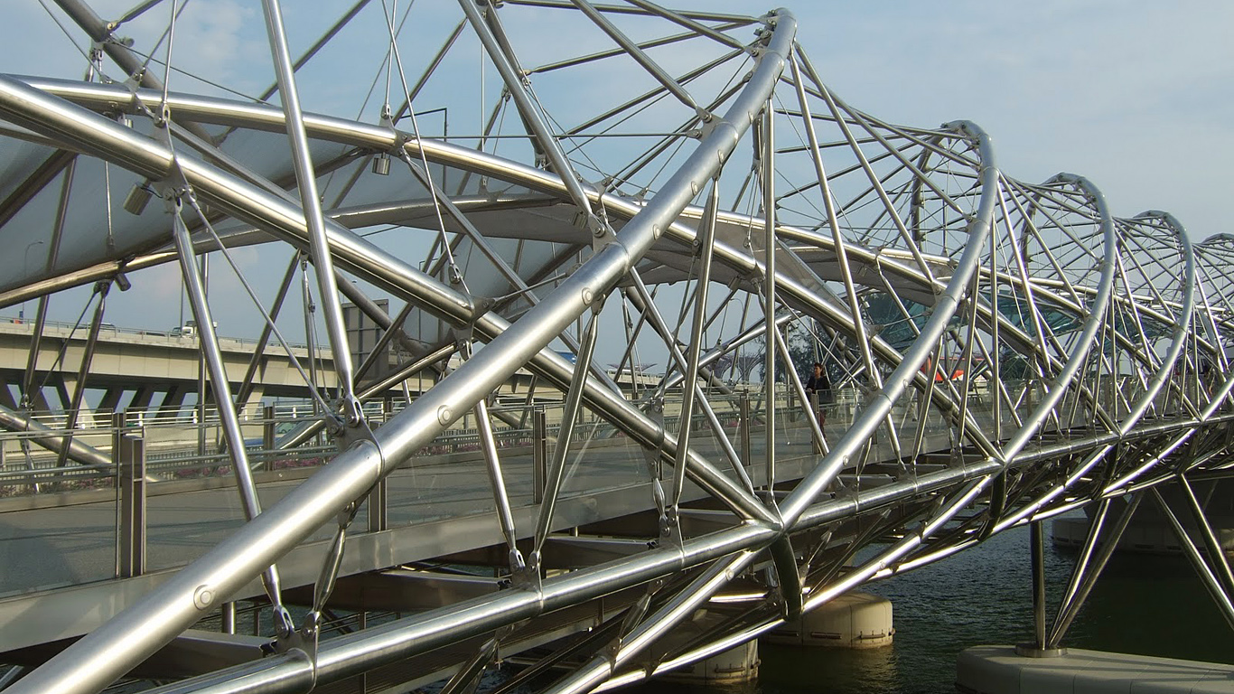 ДНК-мост вблизи