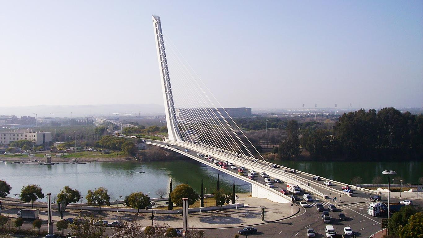 Мост Аламильо сверху