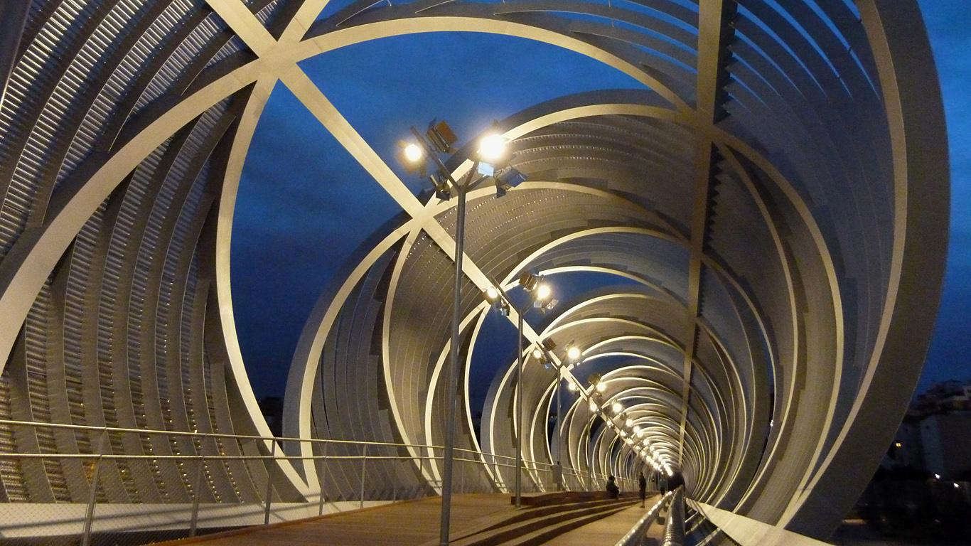 На мосту Аргансуэла