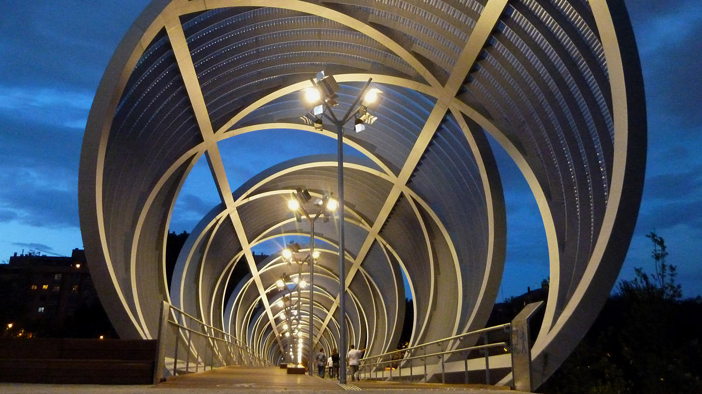 Вход на мост Аргансуэла