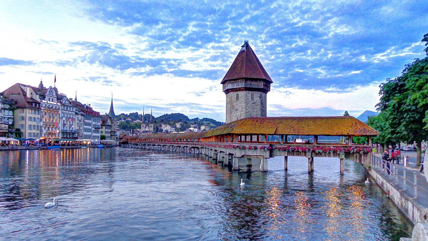Мост Капелльбрюкке