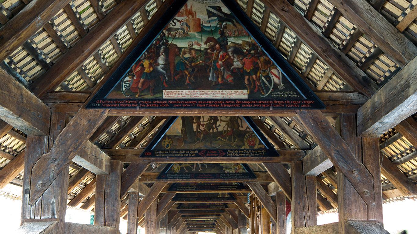На мосту Шпройербрюкке