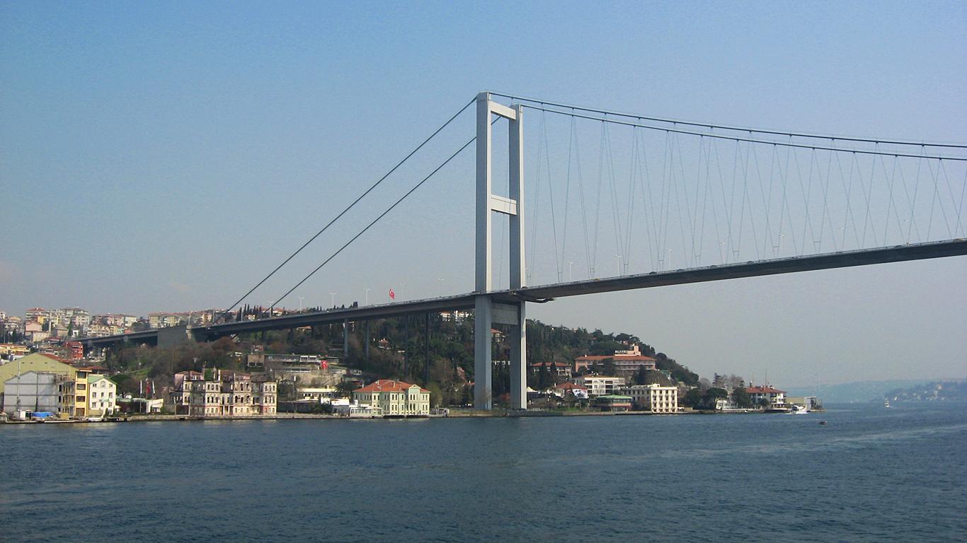 Арка. Босфорский мост