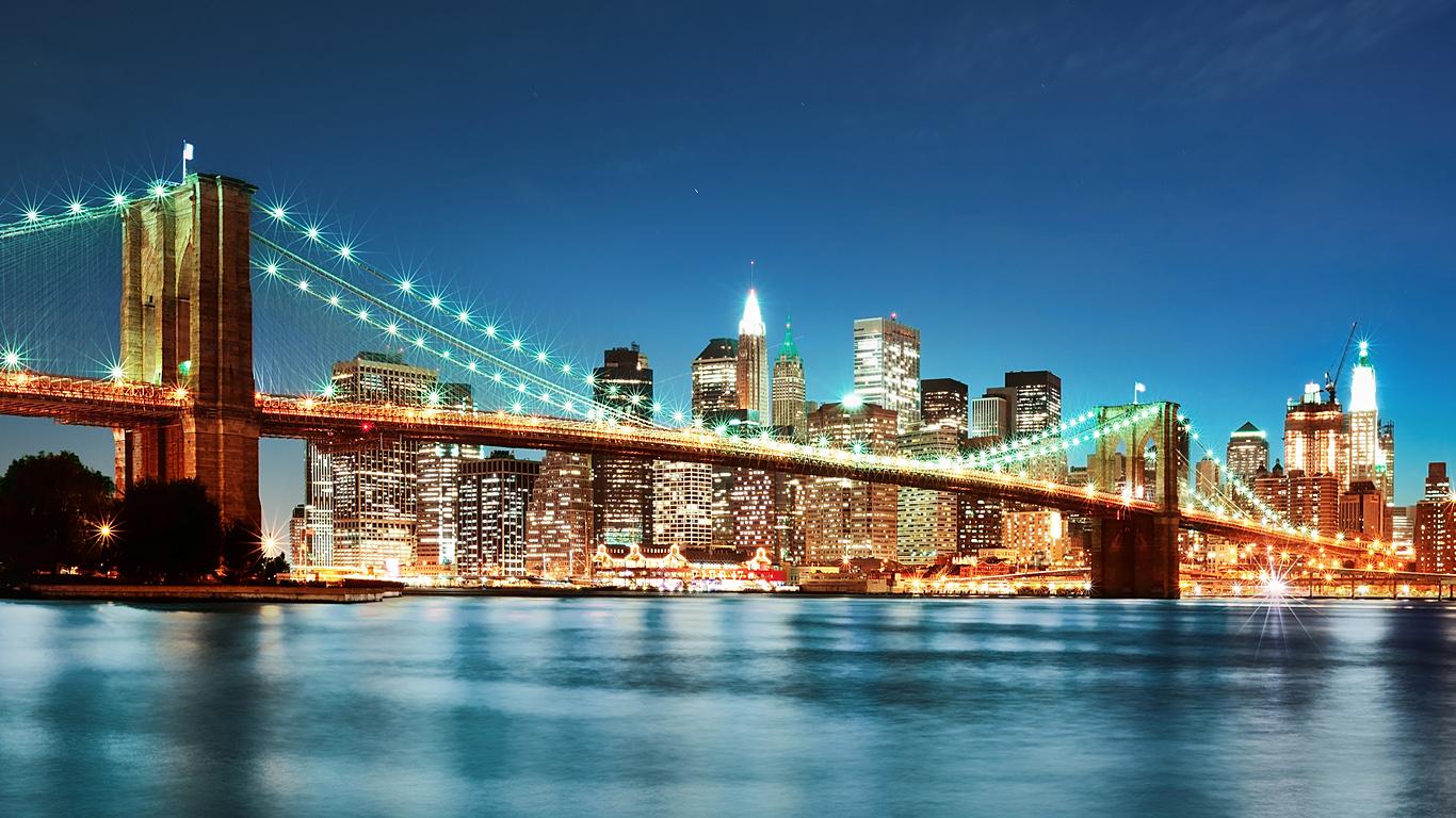Сияние.Бруклинский мост