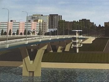 мост в Балаково
